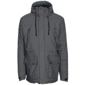 686 Parklan Myth Infiloft Mens Insulated Snowboard Jacket, Black, medium