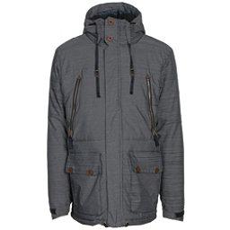 686 Parklan Myth Infiloft Mens Insulated Snowboard Jacket, Black, 256