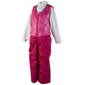 Obermeyer Chacha Toddler Girls Ski Bib, Glamour Pink, medium