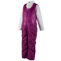 Obermeyer Chacha Toddler Girls Ski Bib, Razzberry, 256