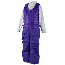 Obermeyer Chacha Toddler Girls Ski Bib, Grapesicle, 256