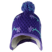 Obermeyer Flower Pop Knit Toddler Girls Hat, Grapesicle, medium