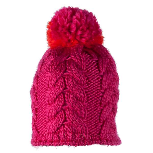 Obermeyer Livy Knit Toddler Girls Hat, Glamour Pink, 600