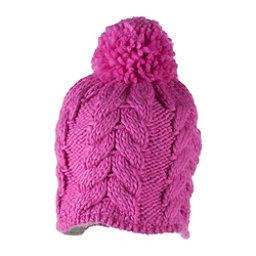 Obermeyer Livy Knit Toddler Girls Hat, Peony Pink, 256
