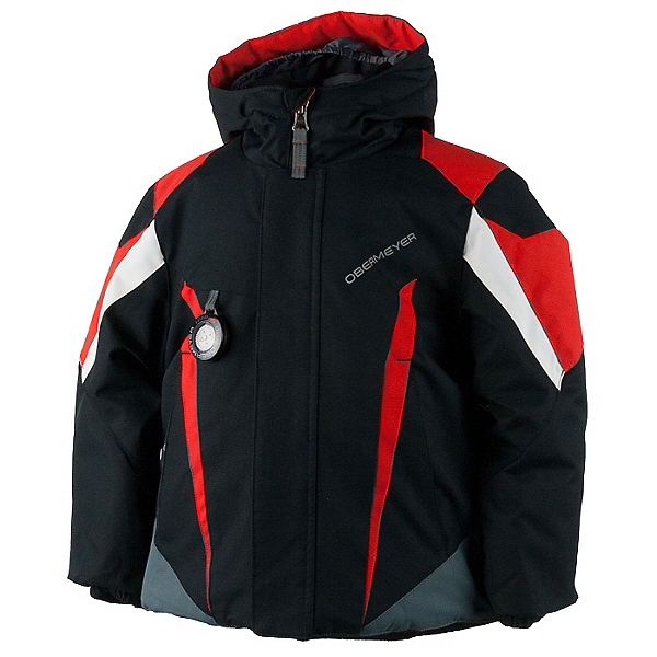 Obermeyer Raptor Toddler Boys Ski Jacket, Black, 600