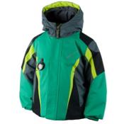 Obermeyer Raptor Toddler Boys Ski Jacket, Lady Luck, medium
