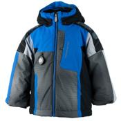 Obermeyer Blaster Toddler Boys Ski Jacket, Stellar Blue, medium