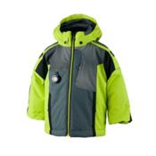 Obermeyer Blaster Toddler Boys Ski Jacket, Screamin Green, medium