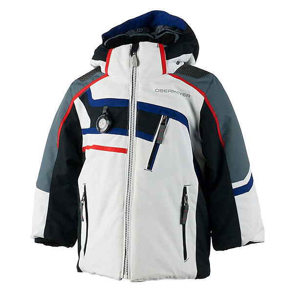 Obermeyer Tomcat Toddler Boys Ski Jacket, White, 600