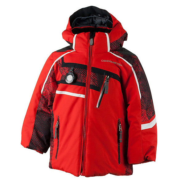 Obermeyer Tomcat Toddler Boys Ski Jacket, Red, 600