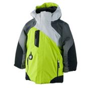Obermeyer Havoc Toddler Boys Ski Jacket, Screamin Green, medium