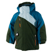 Obermeyer Havoc Toddler Boys Ski Jacket, Covert, medium
