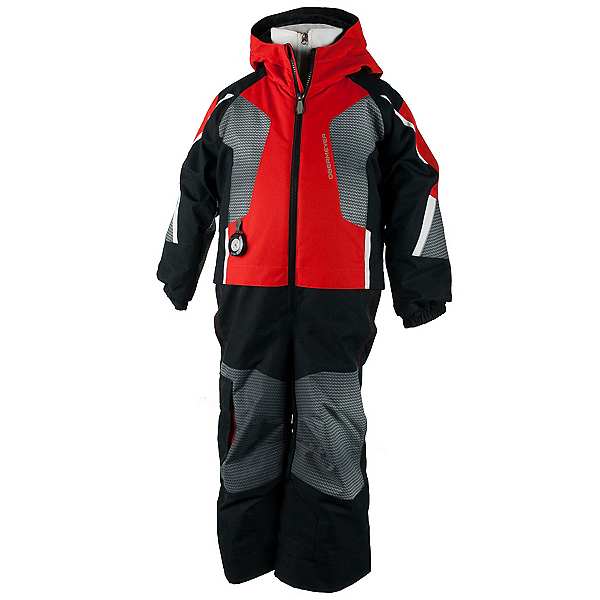 Obermeyer Vortex Toddler Boys One Piece Ski Suit, Red, 600