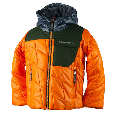 Obermeyer Catapult Toddler Boys Ski Jacket, Tangerine, viewer