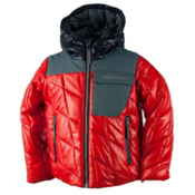 Obermeyer Catapult Toddler Boys Ski Jacket, Red, medium