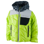 Obermeyer Catapult Toddler Boys Ski Jacket, Screamin Green, medium