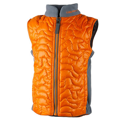 Obermeyer Sidekick Toddler Boys Vest, Tangerine, viewer