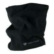 Obermeyer Steeps Pro 100WT Teen Neck Warmer, Black, medium