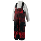 Obermeyer Volt Print Toddler Boys Ski Pants, Red Mesh Print, medium