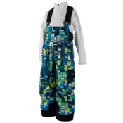 Obermeyer Volt Print Toddler Boys Ski Pants, Moving Squares, medium