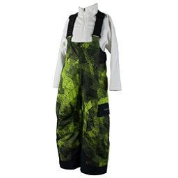 Obermeyer Volt Print Toddler Boys Ski Pants, Green Mesh Print, 256