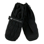 Obermeyer Puffy Toddler Boys Mittens, Black, medium