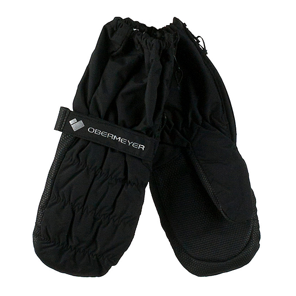Obermeyer Puffy Down Toddler Boys Mittens, Black, 600