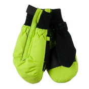 Obermeyer Thumbs Up Toddler Boys Mittens, Screamin Green, medium
