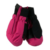 Obermeyer Thumbs Up Toddler Girls Mittens, Glamour Pink, medium