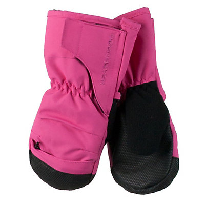 Obermeyer Gauntlet Toddler Girls Mittens, French Rose, viewer