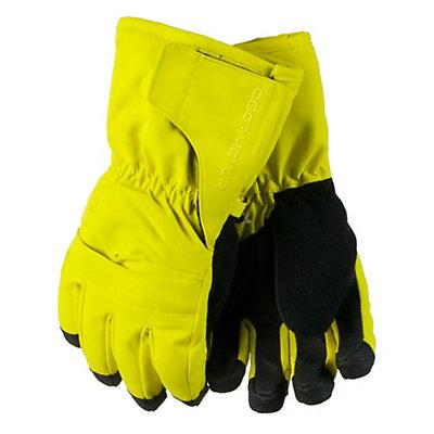 Obermeyer Gauntlet Toddler Boys Glove, Black, viewer