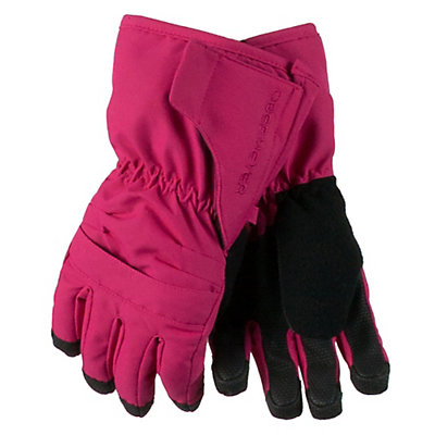Obermeyer Gauntlet Toddlers Gloves, Glamour Pink, viewer
