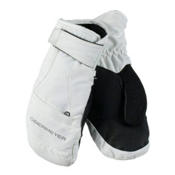 Obermeyer Radiator Teen Girls Mittens, White, medium