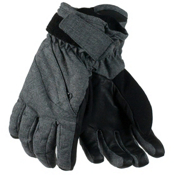 Obermeyer Cornice Teen Boys Gloves, Light Heather Grey, medium