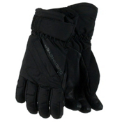 Obermeyer Cornice Teen Boys Gloves, Black, medium