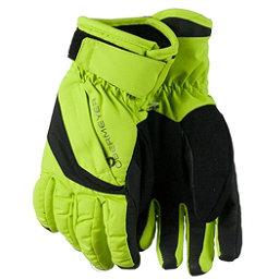 Obermeyer Cornice Teen Boys Gloves, Screamin Green, 256