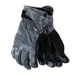 Obermeyer Cornice Boys Gloves, Grey Bit Camo, 256