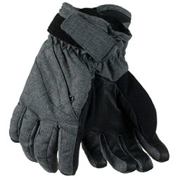 Obermeyer Cornice Girls Gloves, Light Heather Grey, 256
