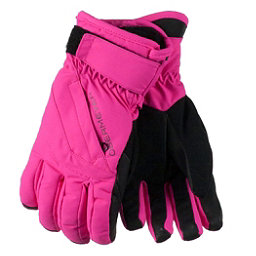 Obermeyer Cornice Teen Girls Gloves, Electric Pink, 256