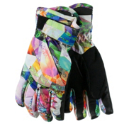Obermeyer Cornice Teen Girls Gloves, Chevron Floral, medium