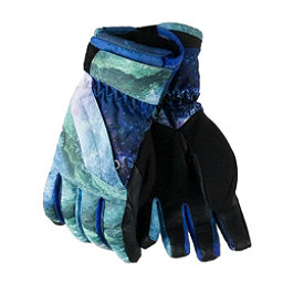 Obermeyer Cornice Girls Gloves, Elevation Print, 256