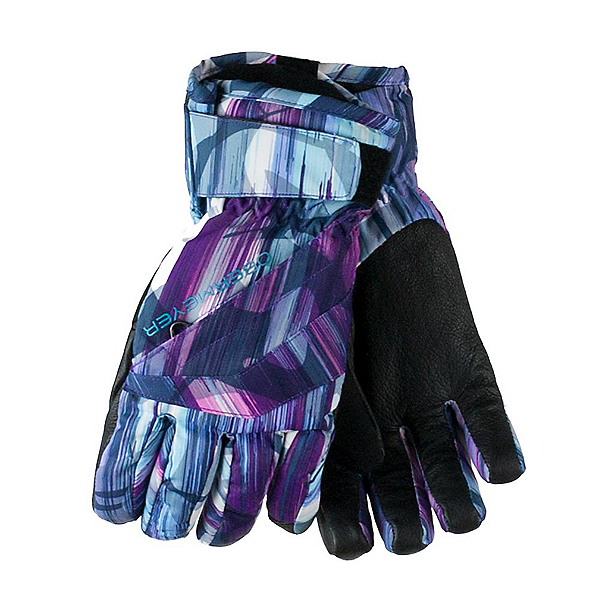 Obermeyer Cornice Girls Gloves, Escape Print, 600