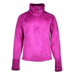 Obermeyer Furry Fleece Top Teen Girls Midlayer, Violet Vibe, 256