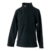 Obermeyer Ultragear 100 Micro Zip Boys, Black, medium