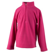 Obermeyer Ultragear 100 Micro Zip Toddler Girls Midlayer, Glamour Pink, medium