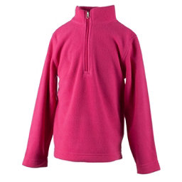 Obermeyer Ultragear 100 Micro Zip Toddler Girls Midlayer, Glamour Pink, 256