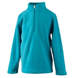 Obermeyer Ultragear 100 Micro Zip Toddler Girls Midlayer, Mermaid, 256