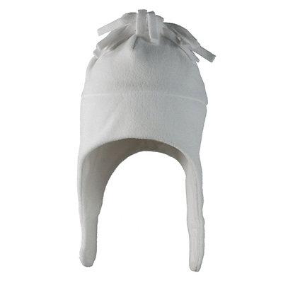 Obermeyer Orbit Fleece Toddler Girls Hat, White, viewer