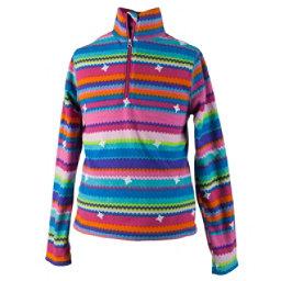 Obermeyer Bomber Pro 100WT Teen Girls Long Underwear Top, Scribble Stripe, 256