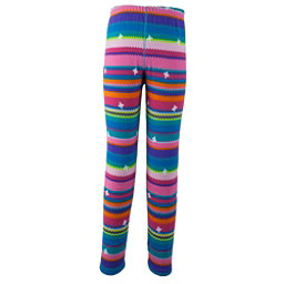 Obermeyer First Tracks Pro 100 Teen Girls Long Underwear Bottom, Scribble Stripe, 256